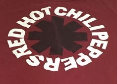 Red Hot Chili Peppers Band X-Large Short Sleeve Tee T-Shirt XL #RedHotChiliPeppers #GraphicTee