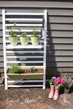 ChickinBoots: Upcycling: Repurposing a Crib Railing