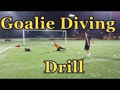 Soccer Diving Techniques : Goalkeeper Training