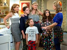 Sisterhood of a TV Treasure: The Ladies of Fuller House Explain Their Sibling-like Bond, TV Families and What Their Kids Really Think of Their Show http://www.people.com/people/package/article/0,,20981907_20989901,00.html