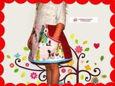 sweet skirt winterwonderland from krabbelkee collection by Feenland on DaWanda.com