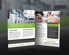 Brochure for Sugar Financial- possibility of reoccuring design needs in future! by ShinTheDesigner
