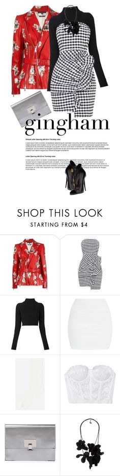 """""""It's... Spring?"""" by clothesmonkey ❤ liked on Polyvore featuring Alexander McQueen, Balmain, Uniqlo, Proenza Schouler, Lanvin and Giuseppe Zanotti"""