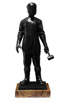 The Craftsman Ed.2/18, resin sculpture by Jonathan van der Walt | StateoftheART Resin Sculpture, Bronze Sculpture, Craftsman, Contemporary Art, Africa, Batman, Van, Superhero, Gallery