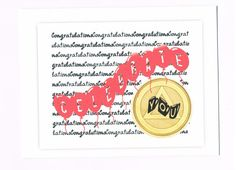 Congratulations Celebrate You 12 Step greeting by 12StepUnityGal, $5.00