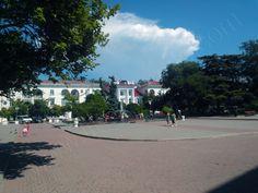 The area near Primorskyi blvd.
