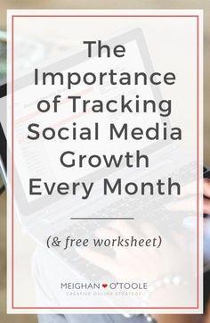 Tracking Social Medi