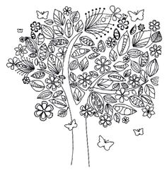 Pin Up Coloring Book Pin Up Girl Coloring Book Own Whimsical Tree Coloring Page