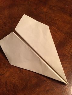 How to fold the best paper airplane http://io9.gizmodo.com/how-to-fold-the-worlds-farthest-flying-paper-airplane-1660676516/amp