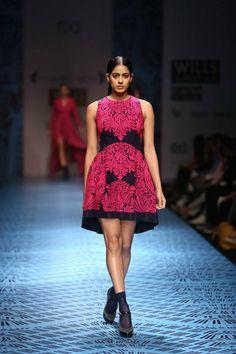 Pankaj & Nidhi Autumn Winter 2013 at Wills Lifestyle India Fashion Week Delhi