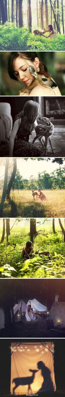 deer girl by Jf.Rnk7