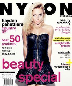 Hayden Panettiere - Nylon Magazine Cover [Indonesia] (April 2013)