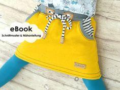 """""""Cozy-Skirt"""" Sweat-Rock / Schnittmuster und Nähanleitung - Nähanleitungen bei Makerist Trends, Cosy, Girls, Crochet, Summer Time, Patterns, Sewing Projects, Skirt, Sewing For Kids"""
