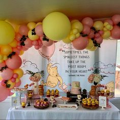 Winnie the Pooh Baby Shower, Winnie the Pooh Nursery/Baby Shower, Winnie the Pooh Backdrop, Winnie the Pooh Vintage/ Winnie the Pooh Classic – babyshower Fiesta Baby Shower, Baby Girl Shower Themes, Baby Shower Decorations For Boys, Baby Shower Invitations For Boys, Baby Shower Fun, Baby Shower Gender Reveal, Baby Shower Parties, Shower Party, Unique Baby Shower Themes