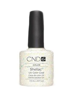 A color for an even wealthier woman.   CND SHELLAC NAIL POLISH IN ZILLIONAIRE, $20, CND.COM.
