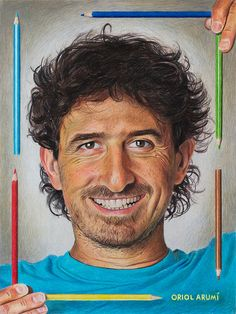 Color Pencil Drawing | Flickr - Photo Sharing! by Oriol Arumi, self portrait