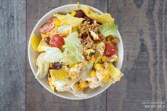 Mexikanisches Party-Rezept: Nacho-Salat