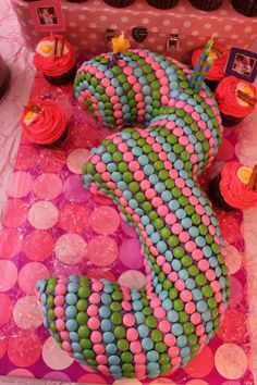 We Heart Parties: Pancakes and Pajamas  #Cake #Girls #Party #UniquePartyIdeas