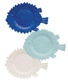 Puffer Fish Appetizer Plate