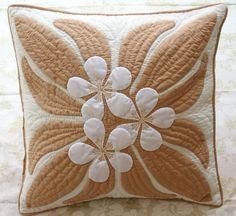 ☆ Super fine fabric ☆ handmade Hawaiian quilt Cushion cover Kit hk1-0007
