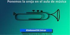TweetChat 18 de marzo #HablamosConEuterpe #EdMusical #DirectosCrea Apps, Education System, Music Classroom, March, App, Appliques