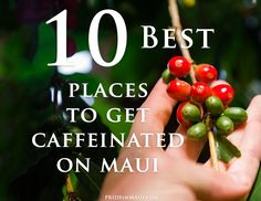 where to get coffee on maui  # 6 was a fave when it was raining.  Although I was known to sit on the beaach in the rain, waiting a couple minutes til it stopped.....