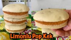 Evde Limonlu Popkek Tarifi - Tarif Defteri Hamburger, Pasta, Bread, Youtube, Food, Brot, Essen, Baking, Burgers