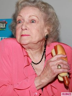 Celebrities Eating Hot Dogs