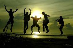 Jump..  #siluetphotography