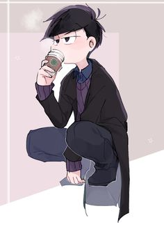 Find images and videos about osomatsu-san and ichimatsu on We Heart It - the app to get lost in what you love. Handsome Anime Guys, Cute Anime Guys, Osomatsu San Doujinshi, Cool Anime Pictures, Ichimatsu, Mafia, Light Novel, My Character, Fan Art