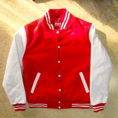 varsity collage letterman baseball jacket handmade varsitybaseball