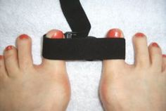 """Ladies! """"foot exercises for bunions""""... I´m using a thera band all few days during pinteresting"""