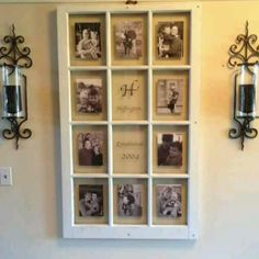 Love old window ideas!