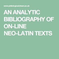 bibliography database