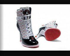 brand new 45184 06aab Buy Women s Nike Air Jordan Six Rings High Heels Shoes White Black Red Top  Deals from Reliable Women s Nike Air Jordan Six Rings High Heels Shoes ...