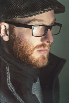 beard & glasses
