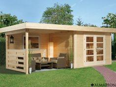 Abri de jardin : grand et moderne. | Maison | Pinterest | Smallest ...