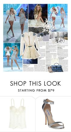 """""""Snow Angels - Candice Swanepoel (o5)"""" by lejournaldessecrets ❤ liked on Polyvore featuring McGinn, Victoria's Secret, Stockdale, Disney, Givenchy, La Perla, Steve Madden, taylorswift, VictoriasSecret and CandiceSwanepoel"""