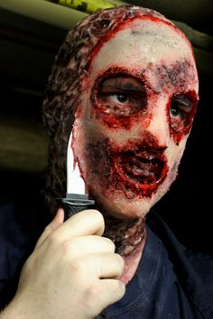 Student makeup by Melanie Smith-Sir Sanford Fleming College Instructor-Rhonda Causton(Reel Twisted FX)