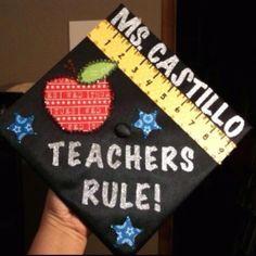 cap decorations for teachers - Google Search