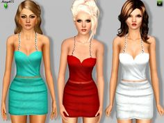 I'm In Chains dress by Margeh75 - Sims 3 Downloads CC Caboodle