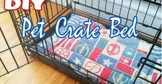 Content filed under the Dog Crates taxonomy. Dog Crate Mats, Diy Dog Crate, Crate Bed, Puppy Crafts, Easy Pets, Diy Dog Bed, Dog Items, Diy Stuffed Animals, Pet Toys