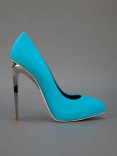 Bomba Heel Giuseppe Zanotti Design Metallic - - Farfetch.com
