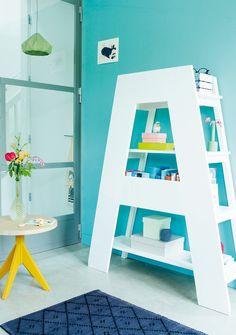 """love this big """"A"""" bookcase"""