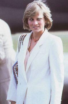 Princess Diana on Honeymoon in Scotland