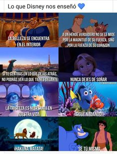 Read memes domingeros 😎😴 from the story 🍎Fotos🍎 by __-Valentina-__ (~°Fiore°~) with 260 reads. Disney Facts, Disney Memes, Disney Quotes, Disney And Dreamworks, Disney Pixar, Walt Disney, Disney Theory, Frases Tumblr, Disney Wallpaper