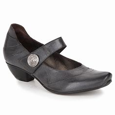 Ballerinas Fidji MAIA Black / Greyish - at Spartoo, £63.60. Not quite my style somehow.