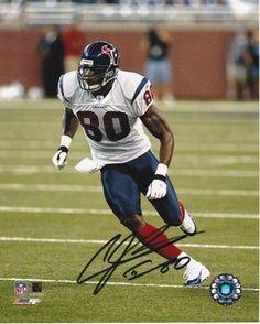 AAA Sports Memorabilia LLC - Andre Johnson Autographed Houston Texans 8x10  Photo 7a14d8102