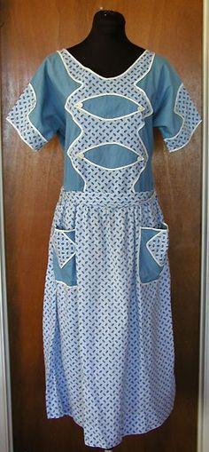 1920's house dress