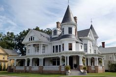 William B Blades house located at 602 Middle Street, in New Bern, North Carolina. Victorian Homes. 100s of Different Victorian Homes   http://www.pinterest.com/njestates1/victorian-homes/      Thanks To http://www.njestates.net/real-estate/nj/listings